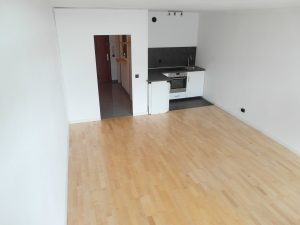 Leeres Apartment in München
