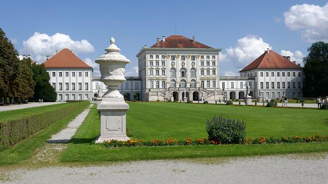 Das Nymphenburger Schloss in München