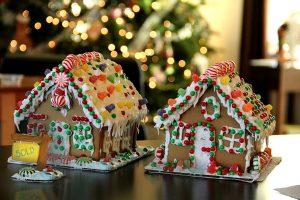 Lebkuchen-Häuser zur Visualisierung von Immobilienpreisen