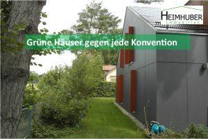 Titelbild zum Artikel Grüne Häuser gegen jede Konvention