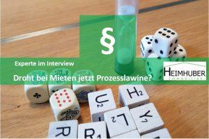 Eigenes Bild passend zum Artikel:Experte im Interview Droht bei Mieten jetzt Prozesslawine?