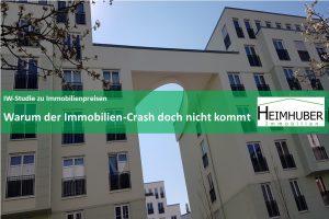 Eigenes Bild zurm Artikel: IW-Studie zu Immobilienpreisen Warum der Immobilien-Crash doch nicht kommt