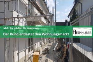 Eigenes Bild zum Artikel Mehr Immobilien für Kommunen Der Bund entlastet den Wohnungsmarkt