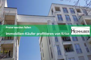 Eigenes Bild zum Artikel Preise werden fallen Immobilien-Käufer profitieren von Krise