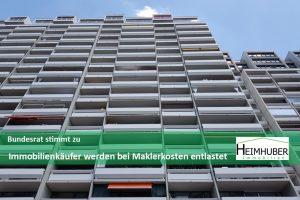 Eigenes Bild passend zu Artikel Bundesrat stimmt zu Immobilienkäufer werden bei Maklerkosten entlastet