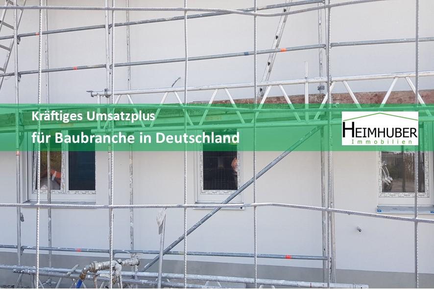 Eigenes Bild passend zum Artikel: Kräftiges Umsatzplus für Baubranche in Deutschland