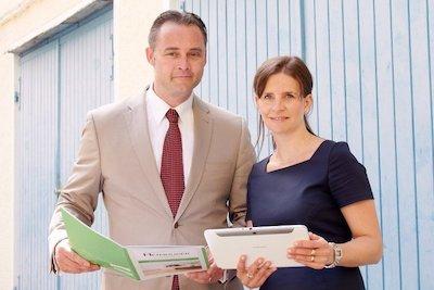 Das Heimhuber Makler-Team Bettina & Robert Heimhuber