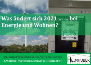 Eigenes Bild passend zum Artikel: Was ändert sich 2021 bei Energie und Wohnen