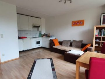 Wohnzimmer Blick zur Küche